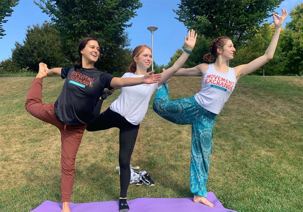 Yoga with Move-Ex at UC
